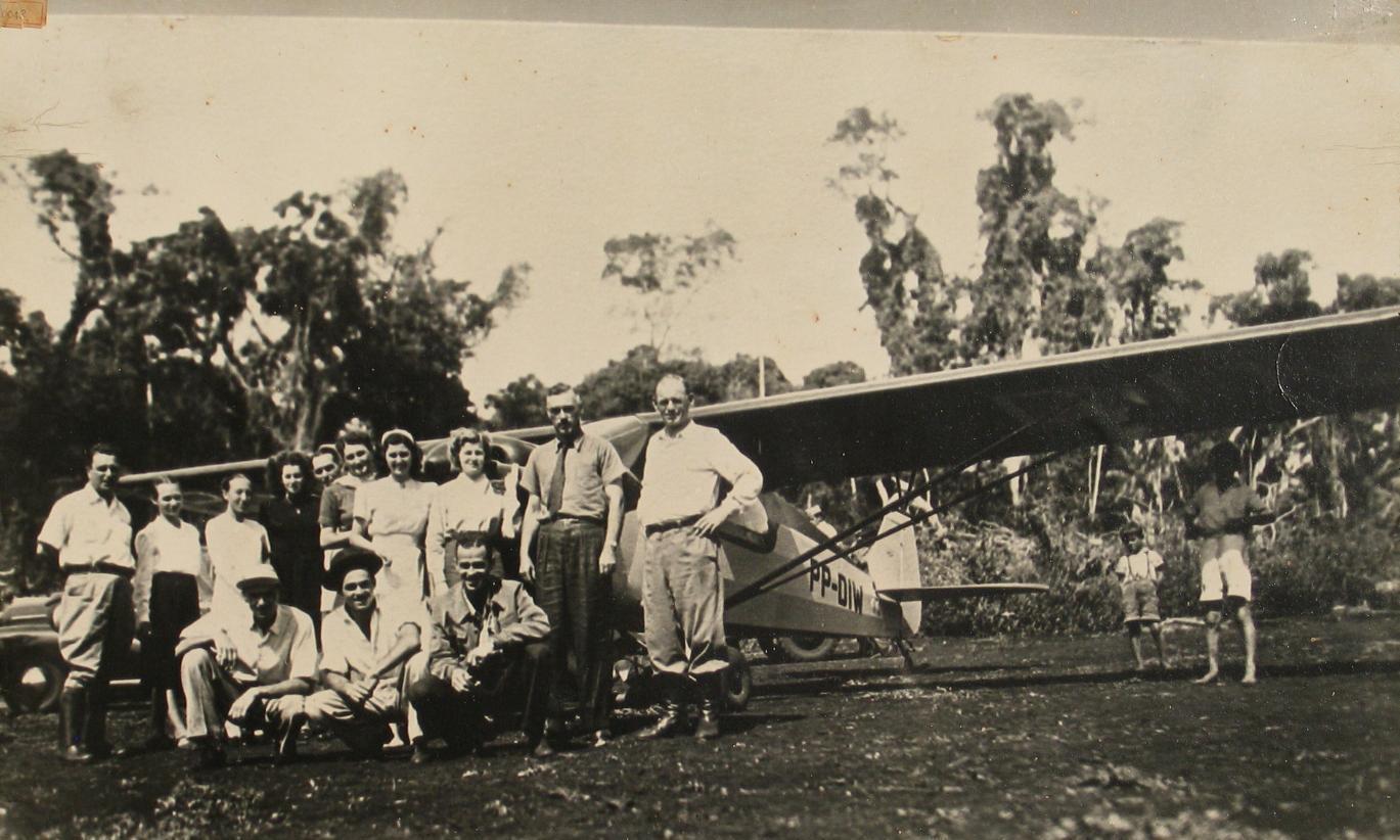 1º avião que pousou em Maringá