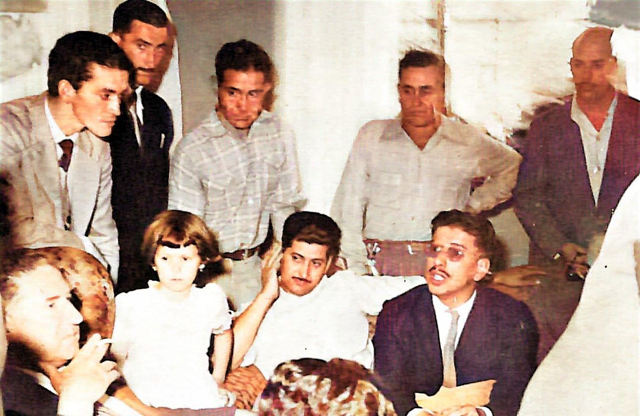 Série: Cores do passado - Adhemar na casa do Américo - 1956