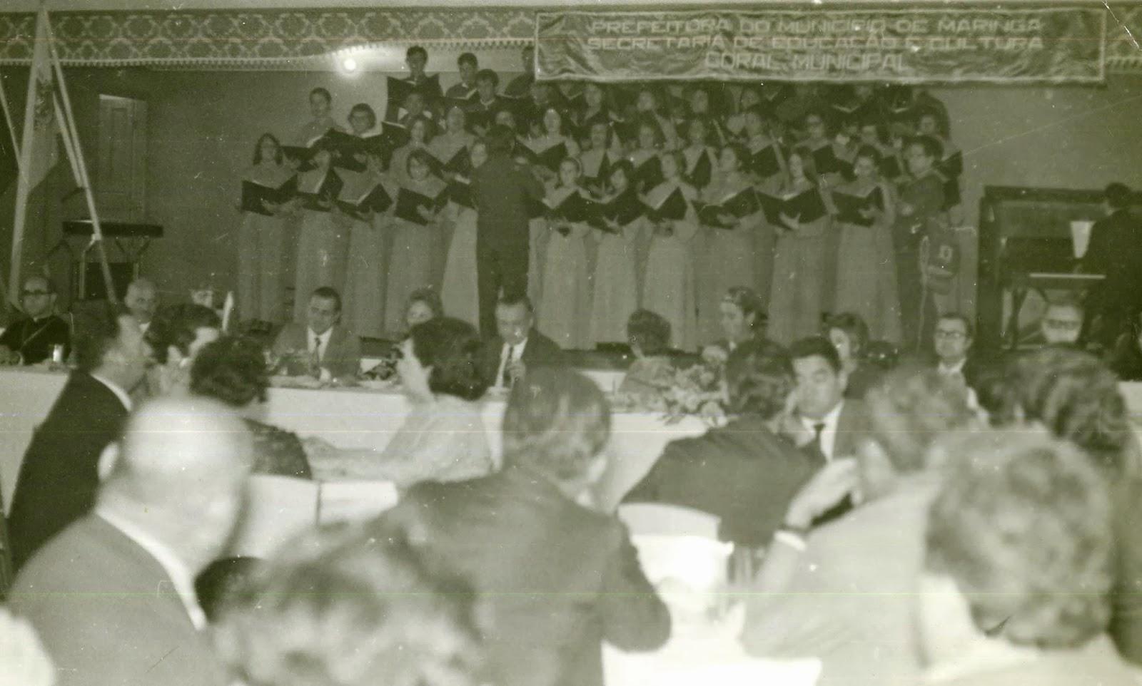 Evento para Haroldo Leon Peres - 1971