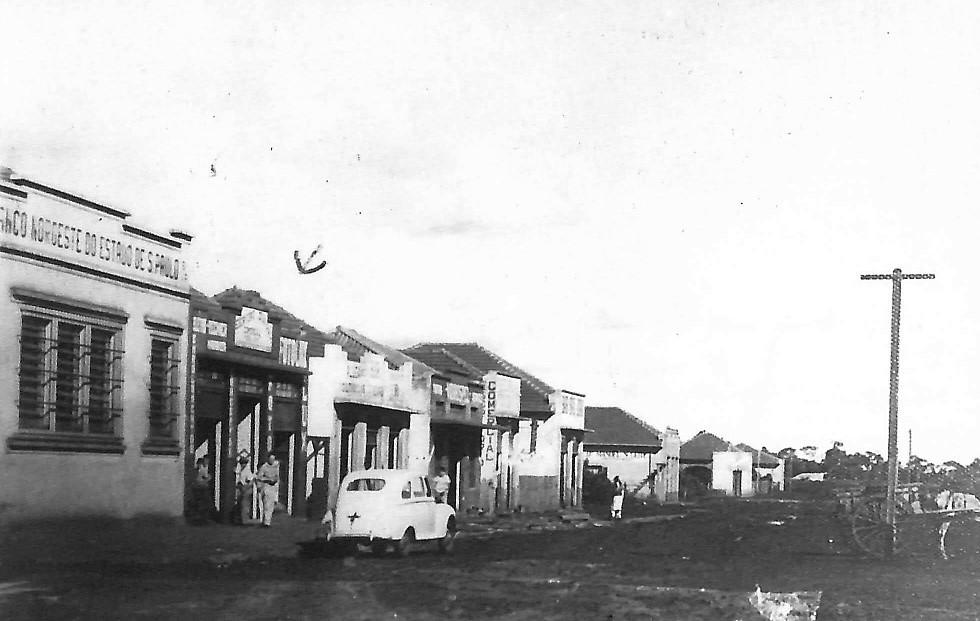 Avenida Duque de Caxias - 1950