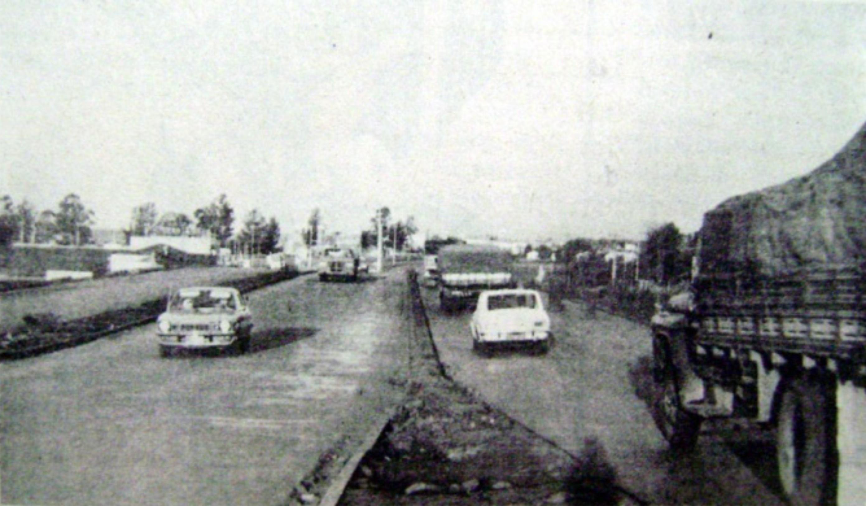 Viaduto da avenida Tuiuti - 1976