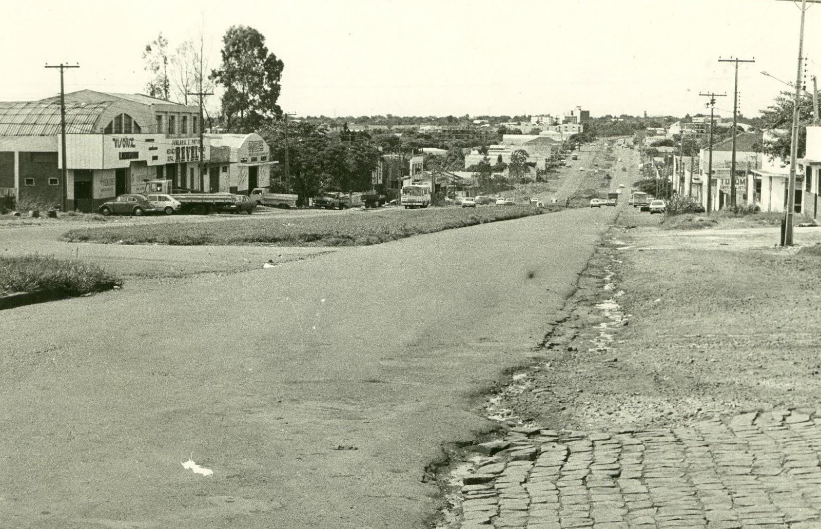 Avenida Colombo - Início dos anos 1980