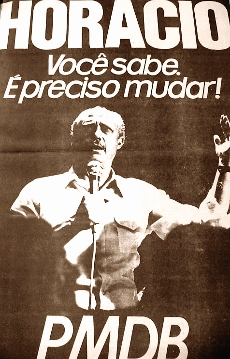 Anúncio da campanha eleitoral de 1982