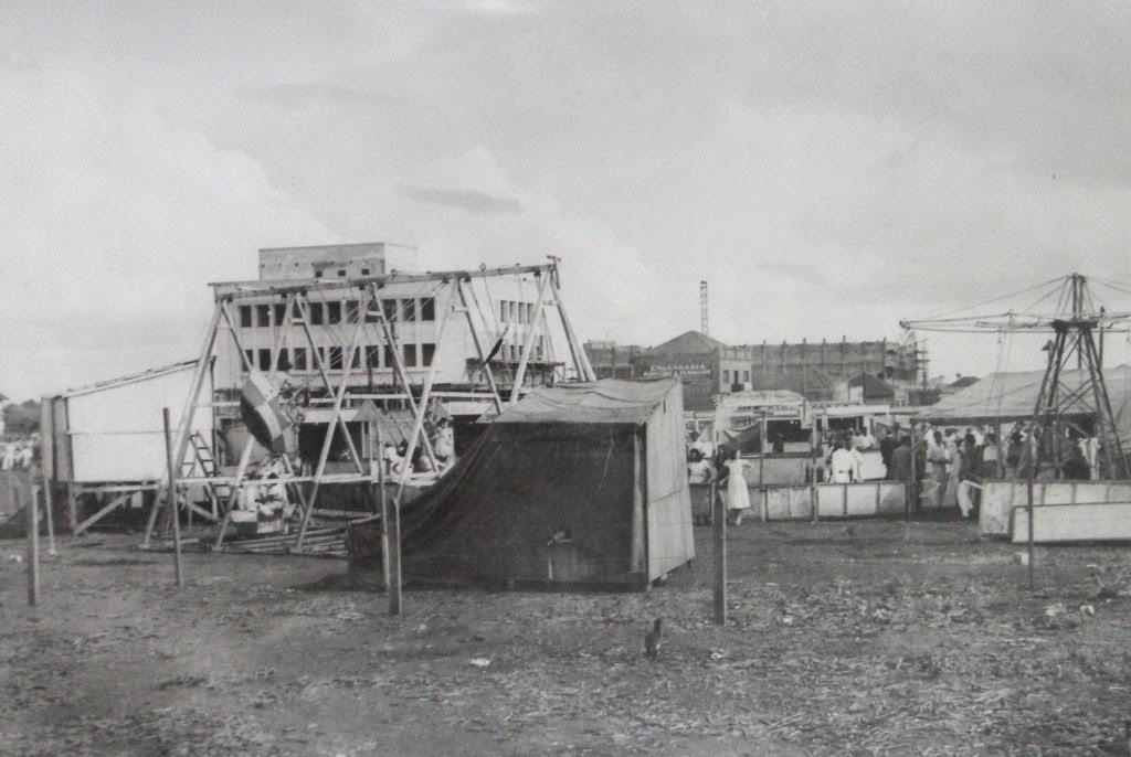 Parque de Diversões - Década de 1950