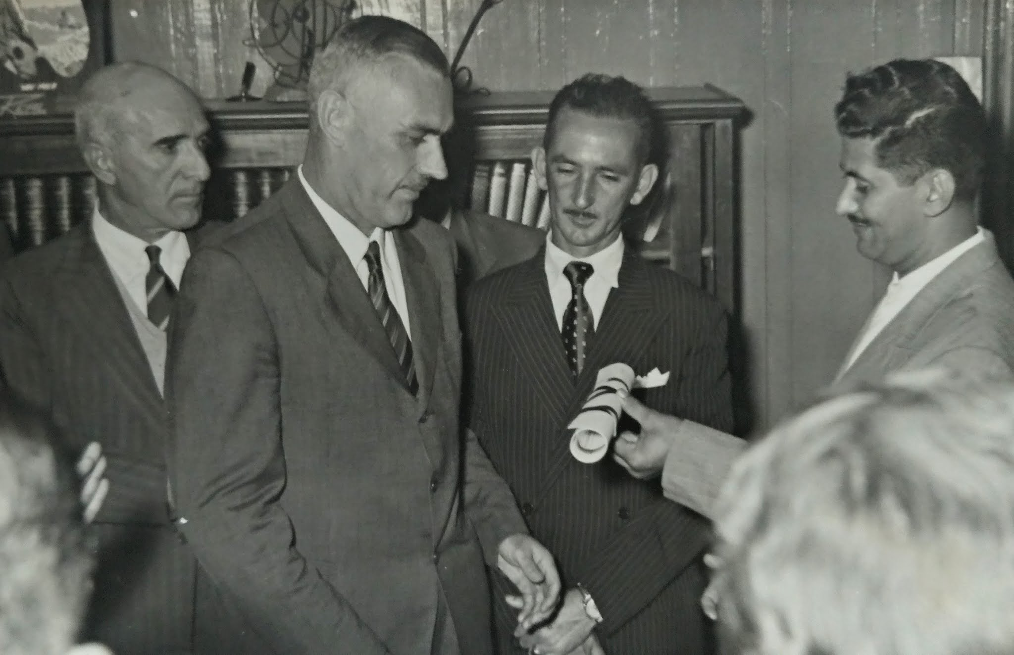 Título de Cidadão Honorário de Maringá a Alfredo Werner Nyffeler - 1957