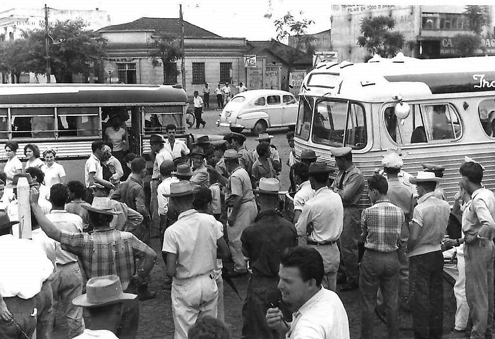Início das operações dos Transportes Coletivos Ubirajara - 1962