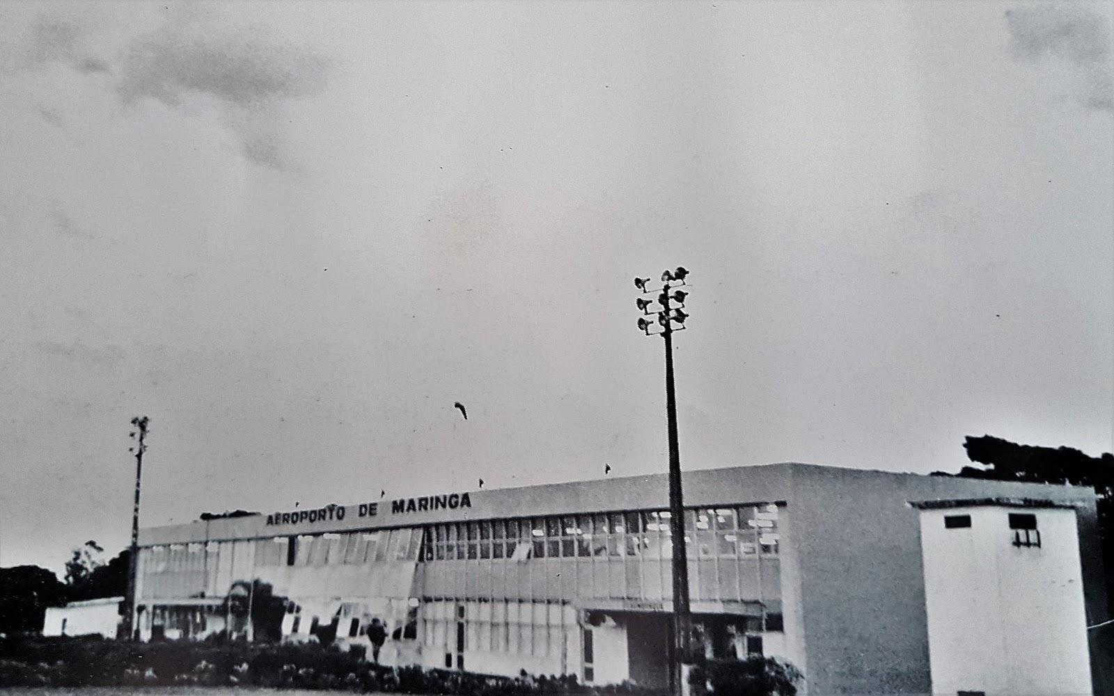 Aeroporto Regional Dr. Gastão Vidigal - Anos 1980
