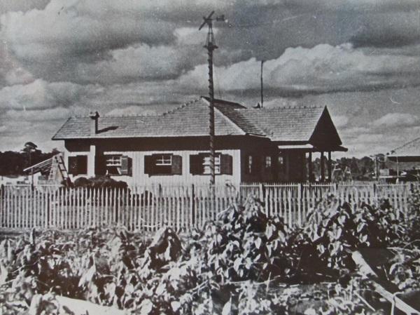 Residência de Alfredo Nyffeler - 1947 e 1972