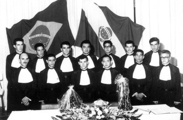 1ª turma de Ciências Econômicas de Maringá - 1964
