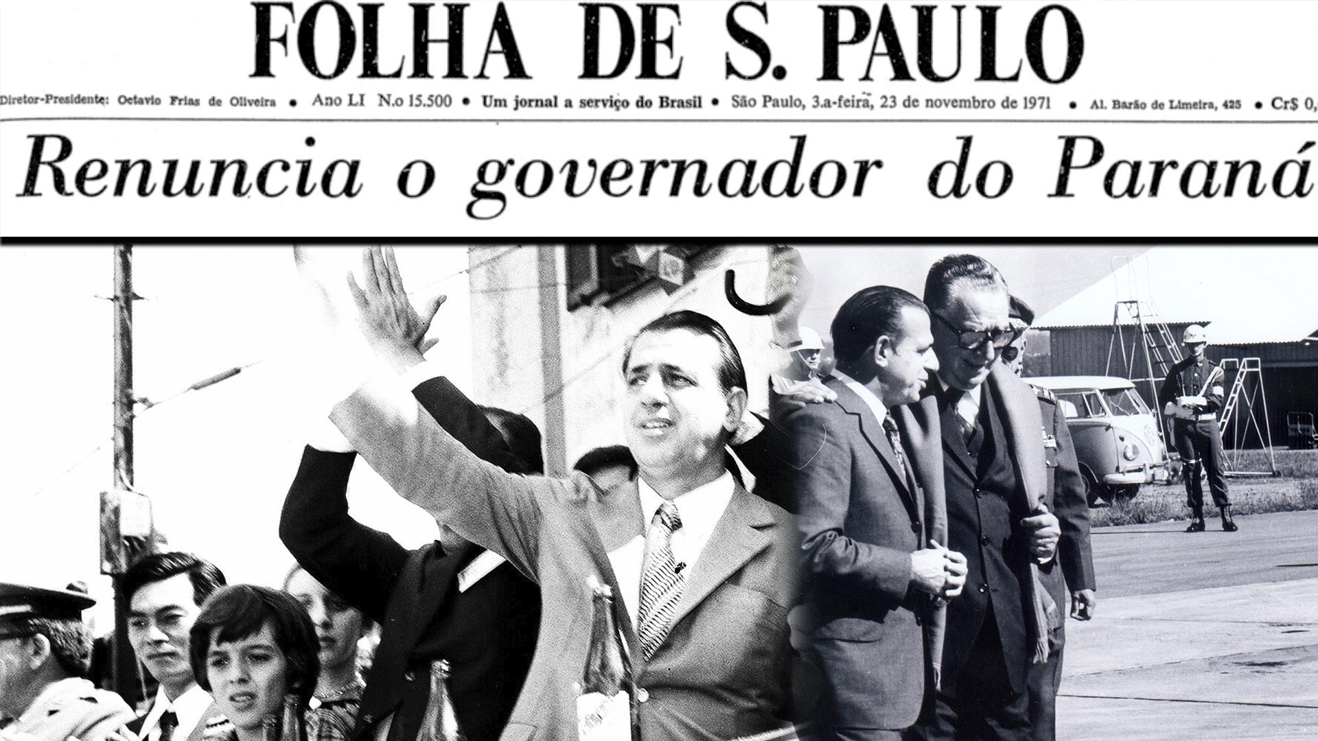 Haroldo Leon Peres: a renúncia do governador do Paraná