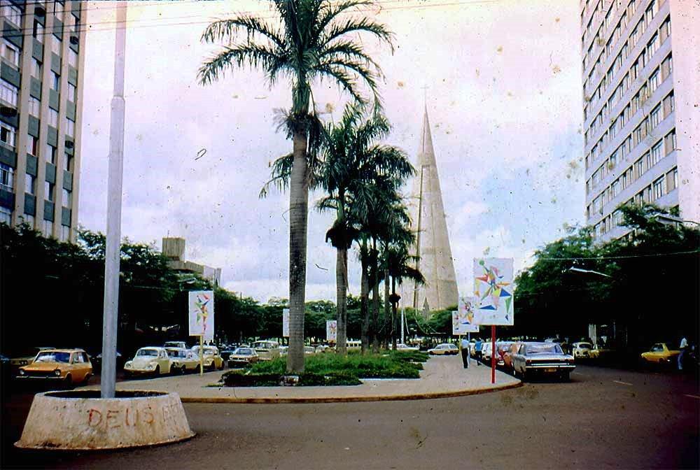Avenida Getúlio Vargas - Década de 1980
