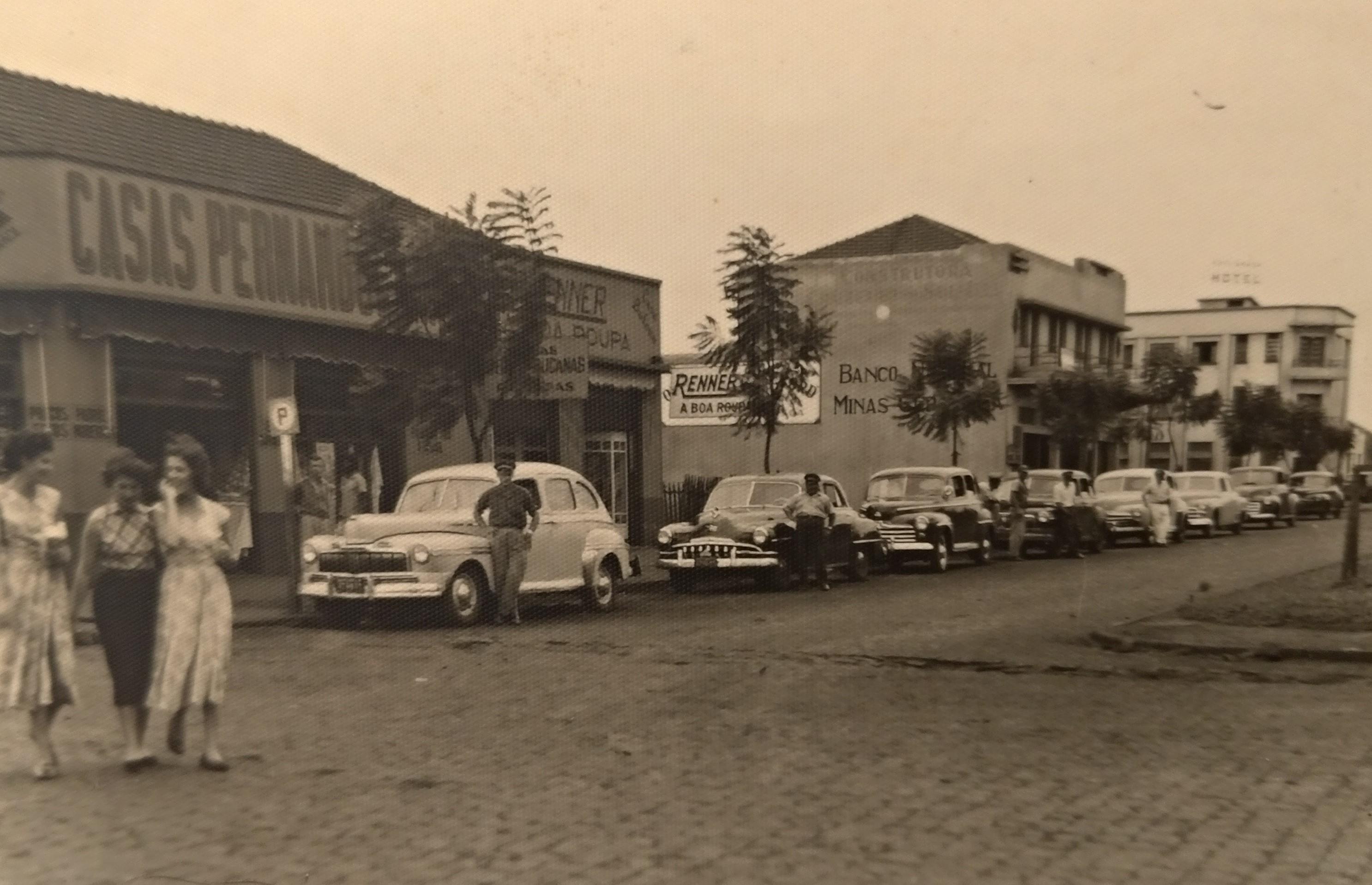 Avenida Duque de Caxias x Avenida Brasil - Anos 1950