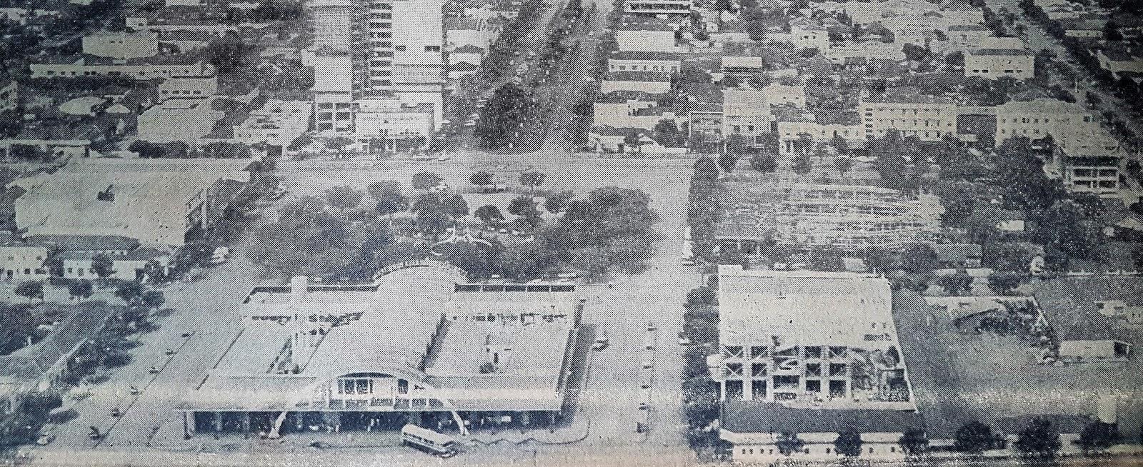 Eixo monumental - 1964