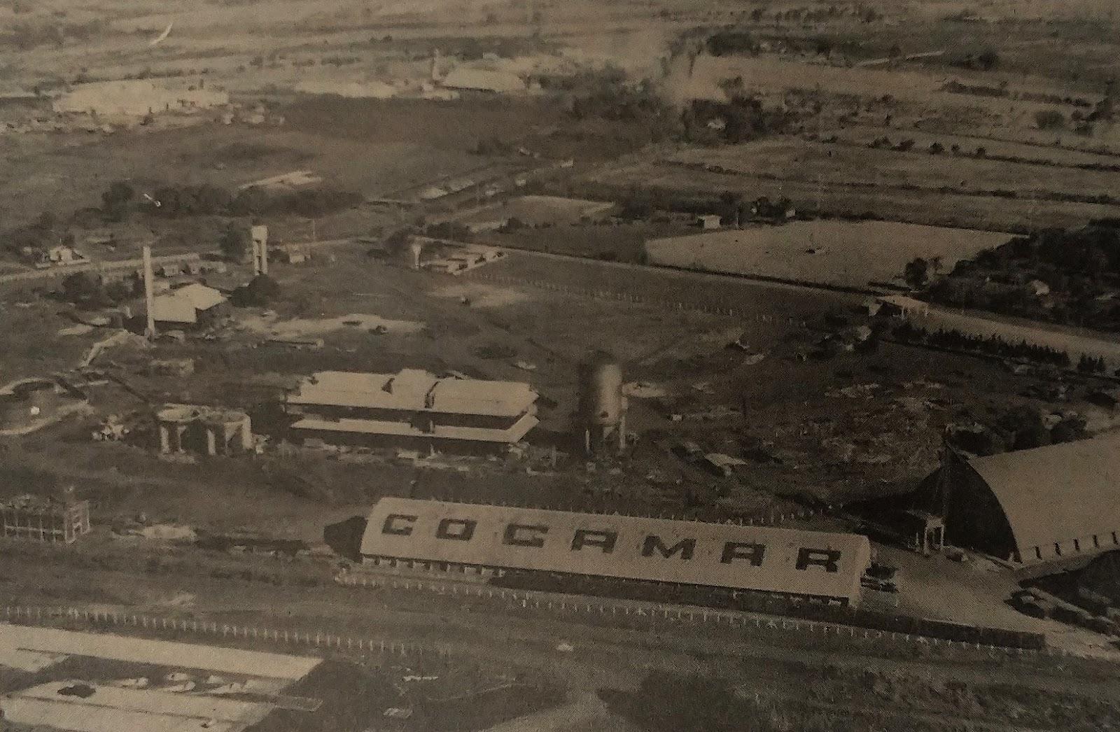 Fábrica de óleos COCAMAR - 1978