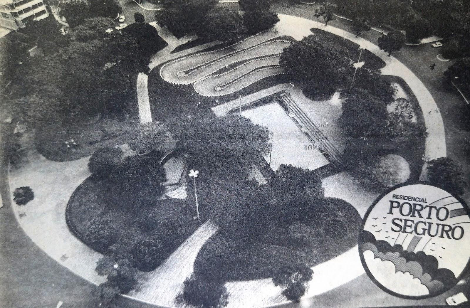 Praça Manoel Ribas - 1985