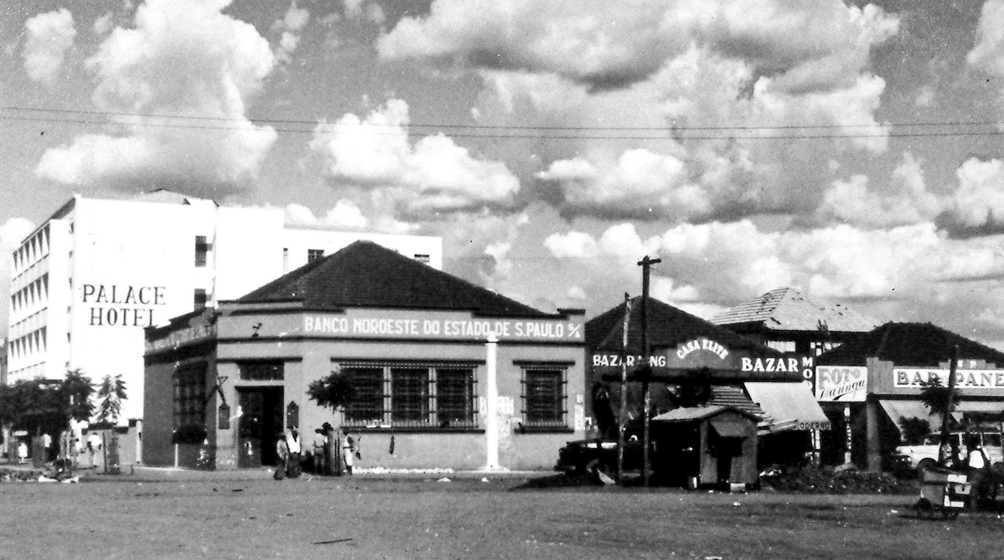 Brasil esquina com Duque de Caxias - Anos 1950