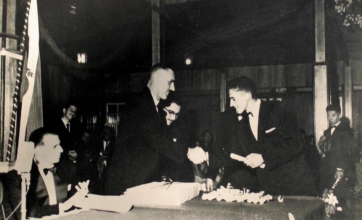 1ª turma do Ginásio Maringá - 1955