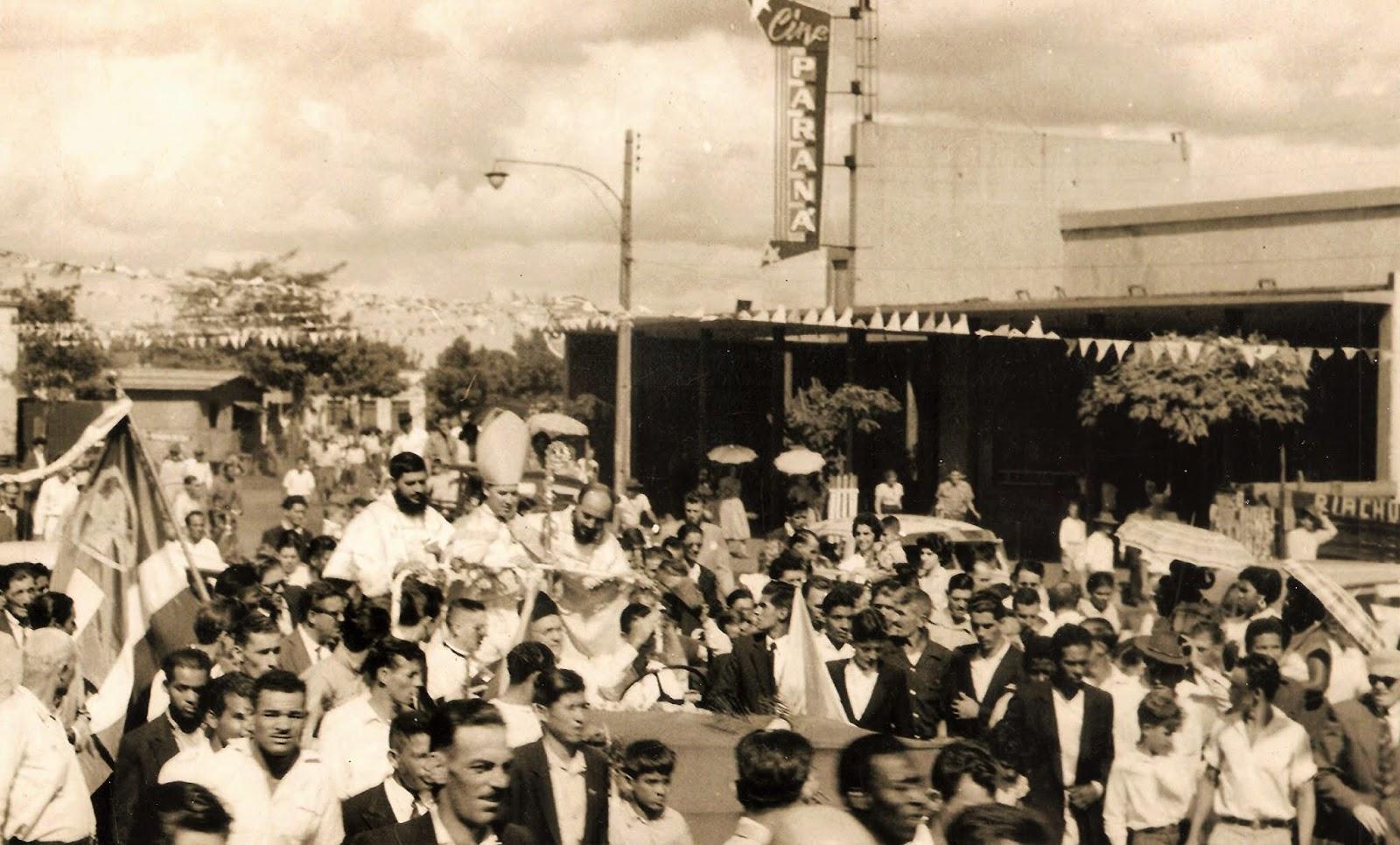 Chegada de Dom Jaime - 1957