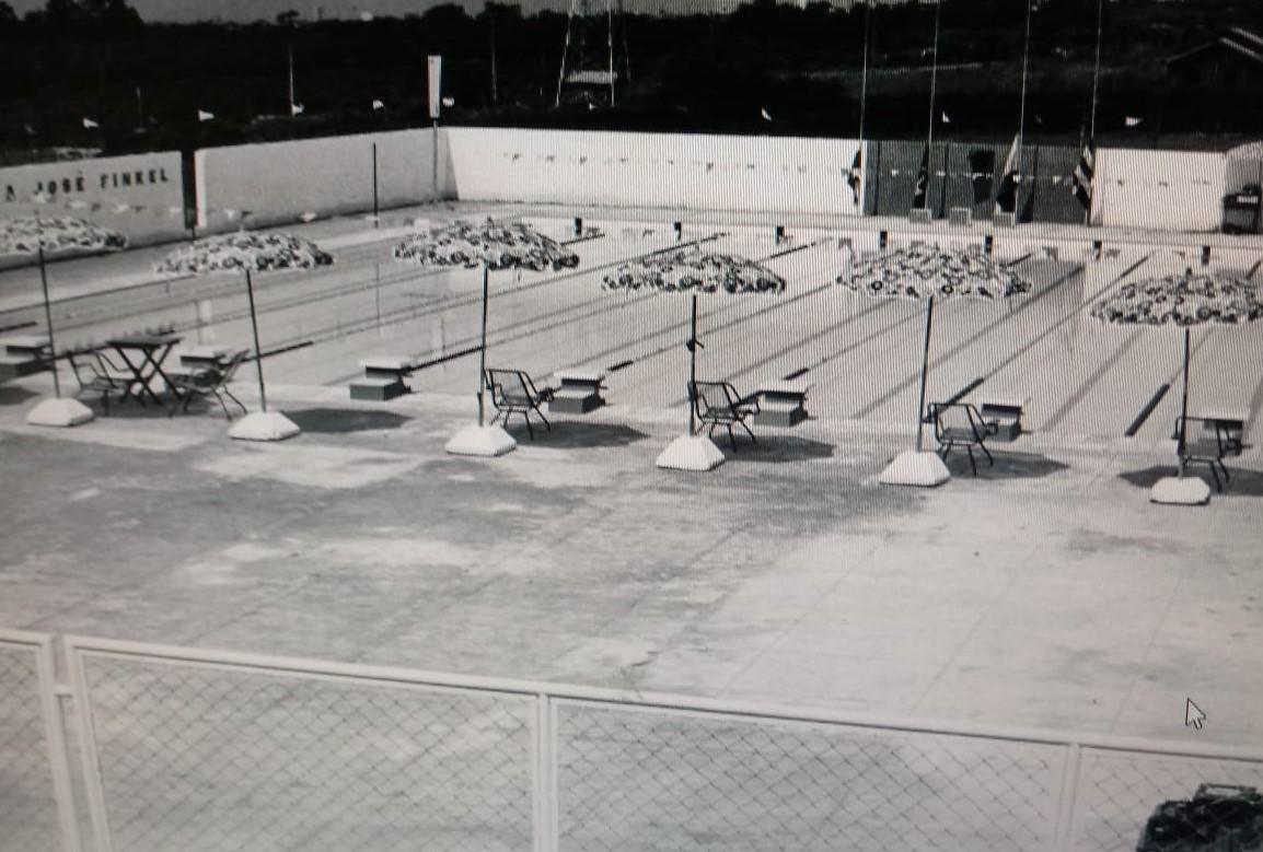 Reestruturação da piscina do Clube Olímpico de Maringá