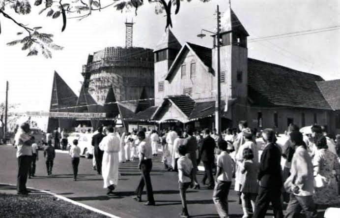 Avenida Tiradentes - Década de 1960