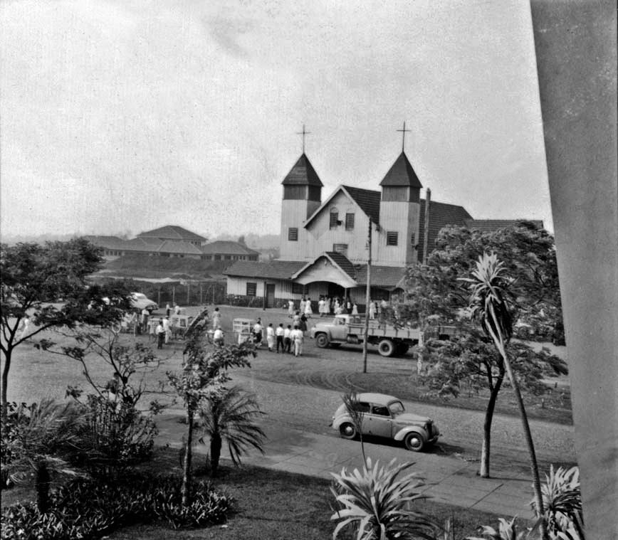 Sacada do Grande Hotel Maringá - 1960