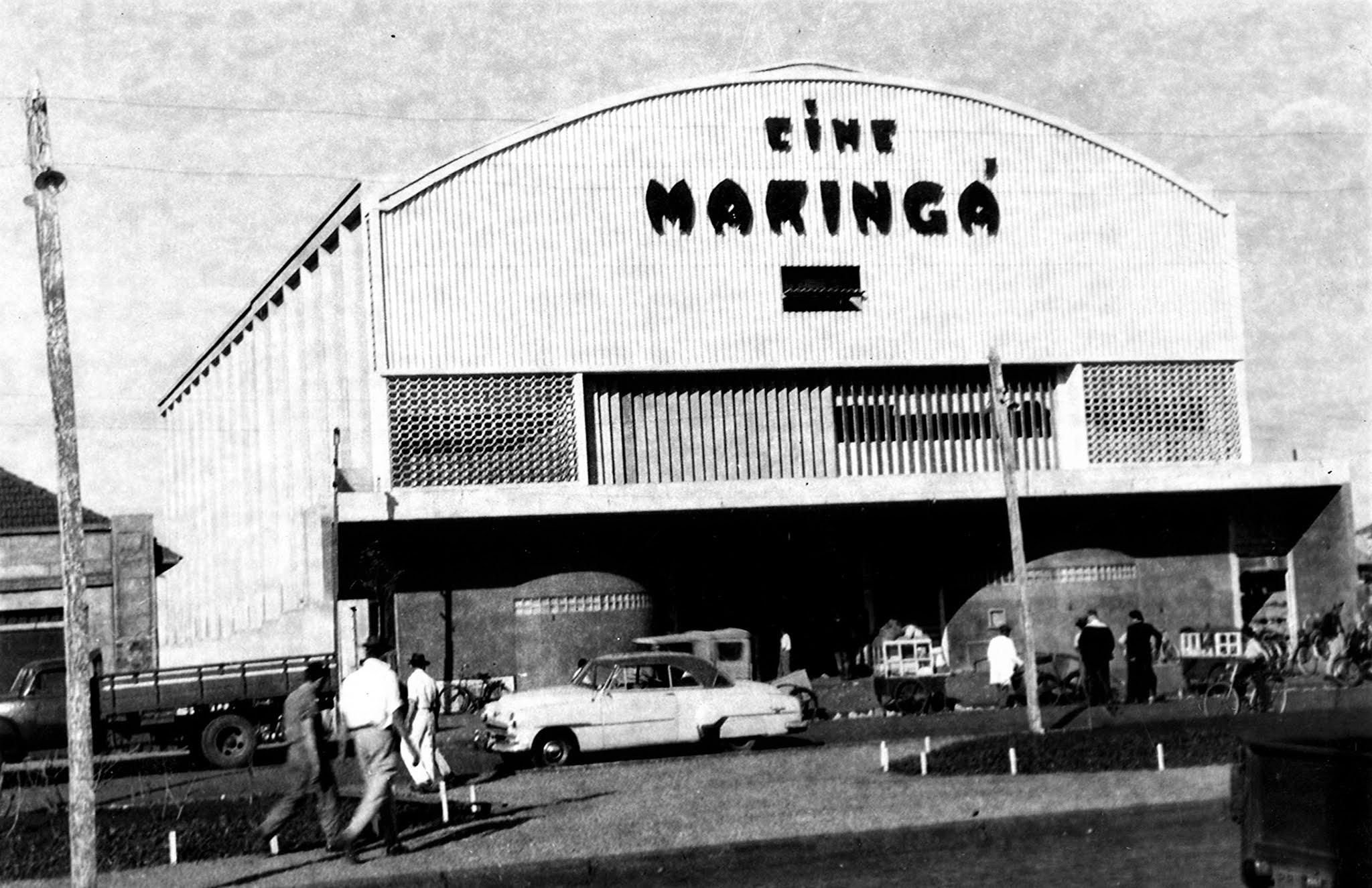 Cine Maringá - Década de 1950