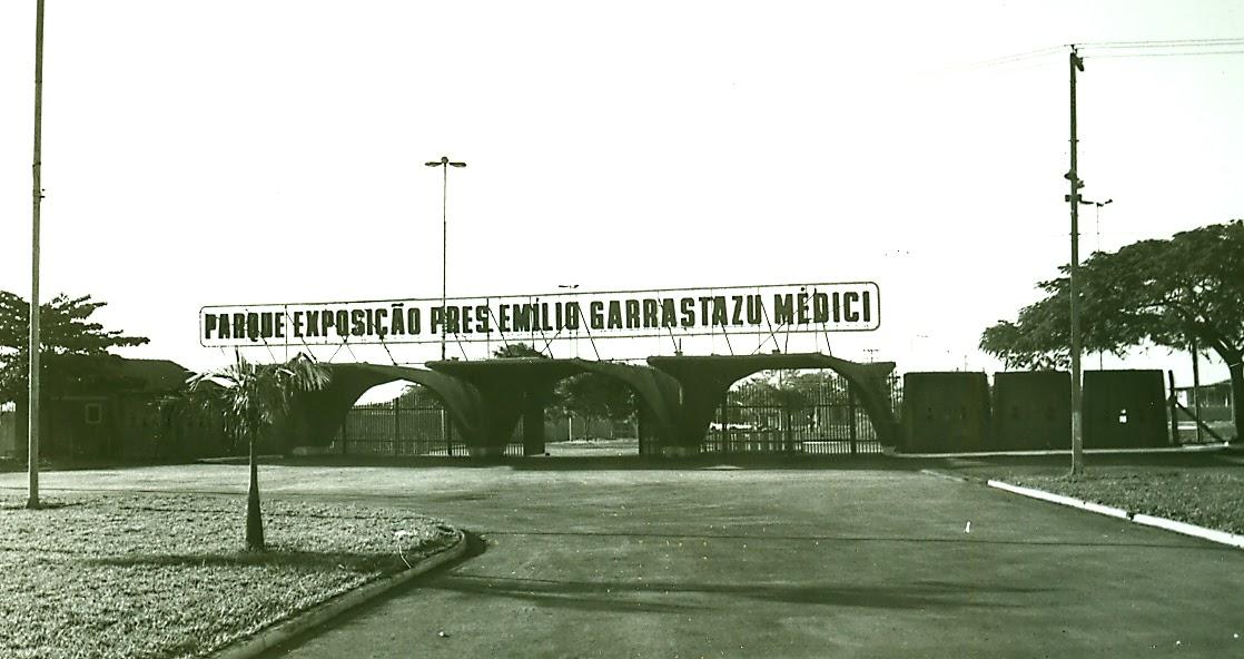 Parque de Exposições Emílio Garrastazu Médici - Década de 1980
