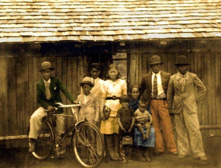 Primeira Foto - Família Taguchi