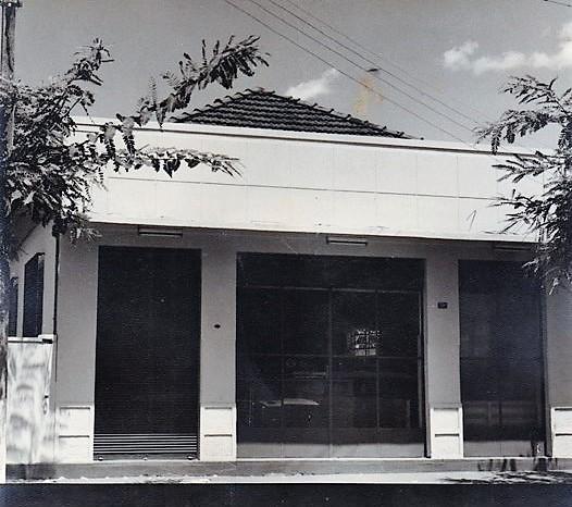 Inauguração do Banco do Paraná - 1962