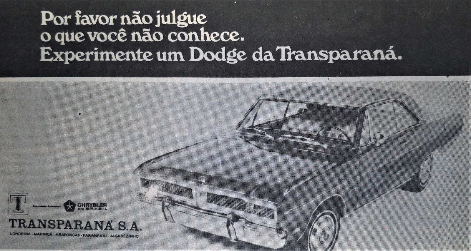 Dodge da Transparaná - 1975