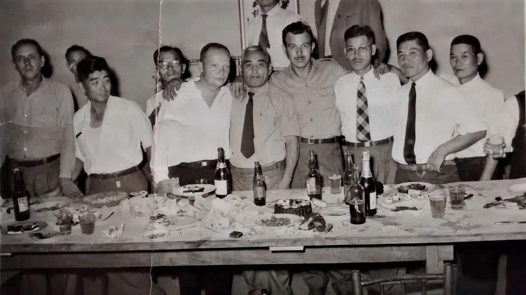 Evento com o prefeito - Anos 1950