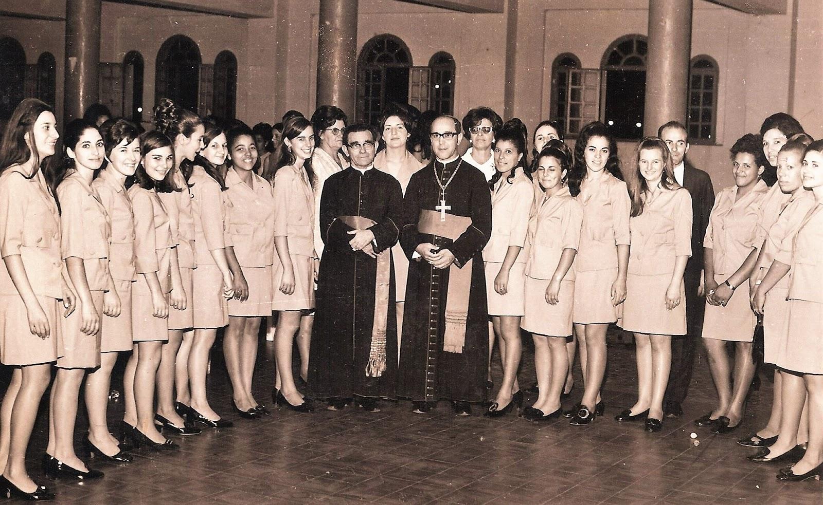 Dom Jaime Luiz Coelho em Marialva - 1960