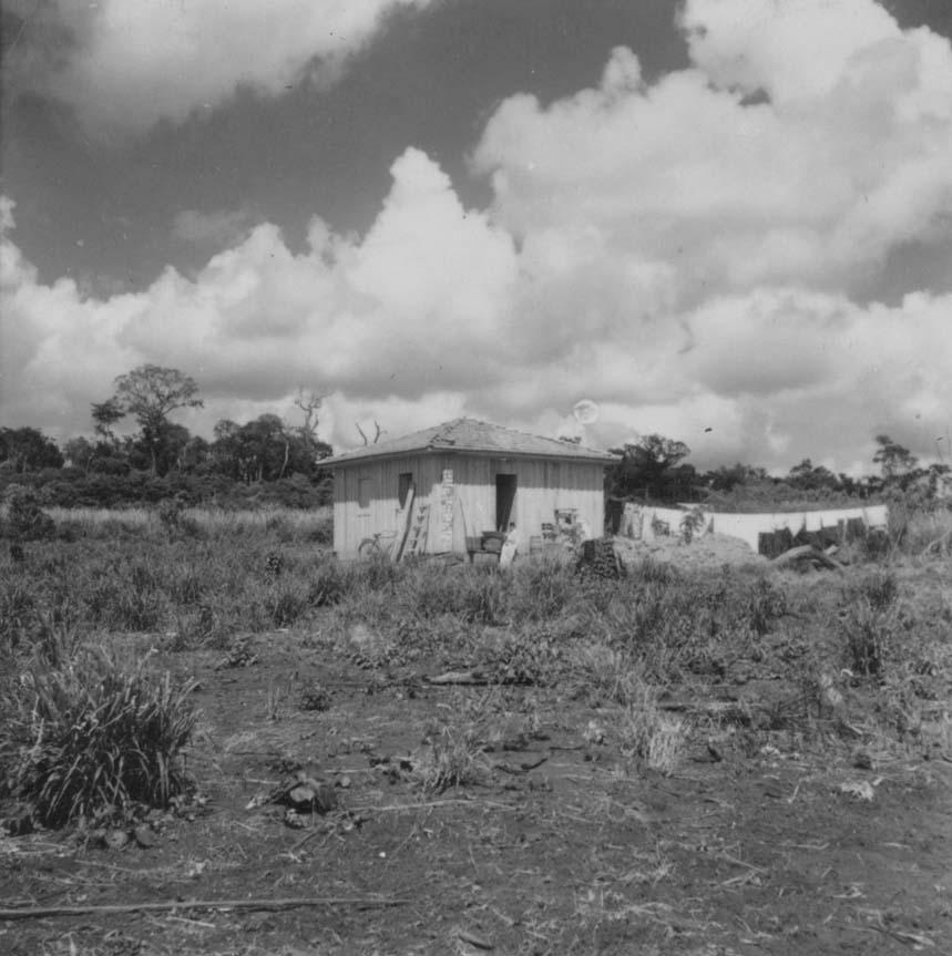Casa de madeira - 1960