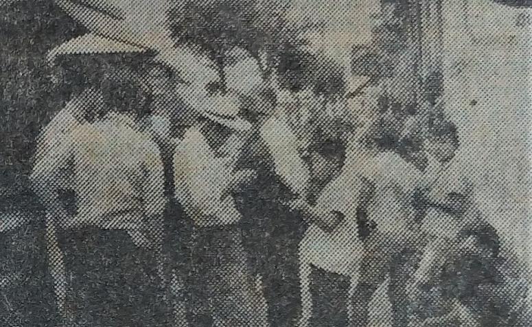 Figurinhas na Rodoviária - Outubro de 1962
