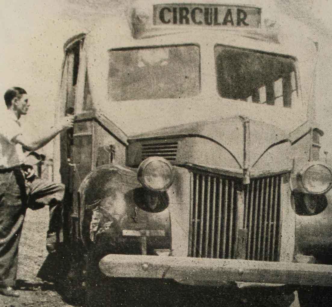 1ª Circular de Maringá - 1950