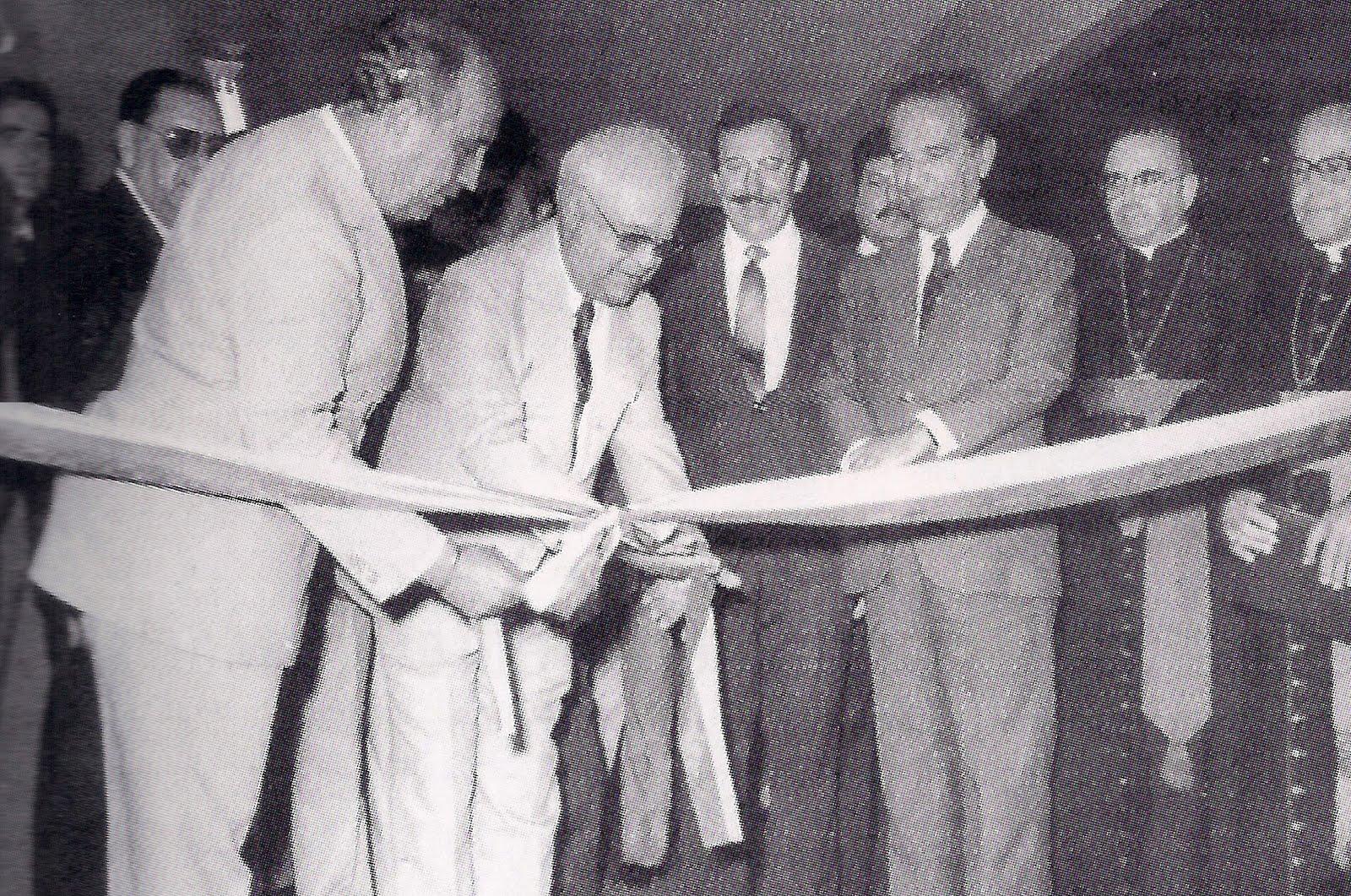 Inauguração do SENAC - Década de 1980