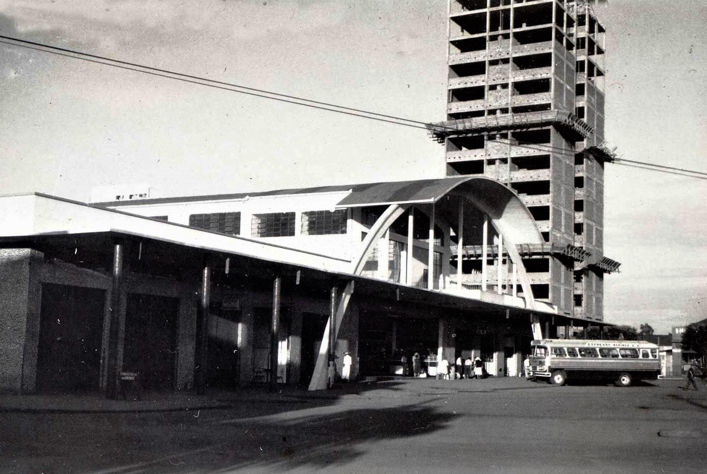 Estação Rodoviária Municipal - Década de 1960
