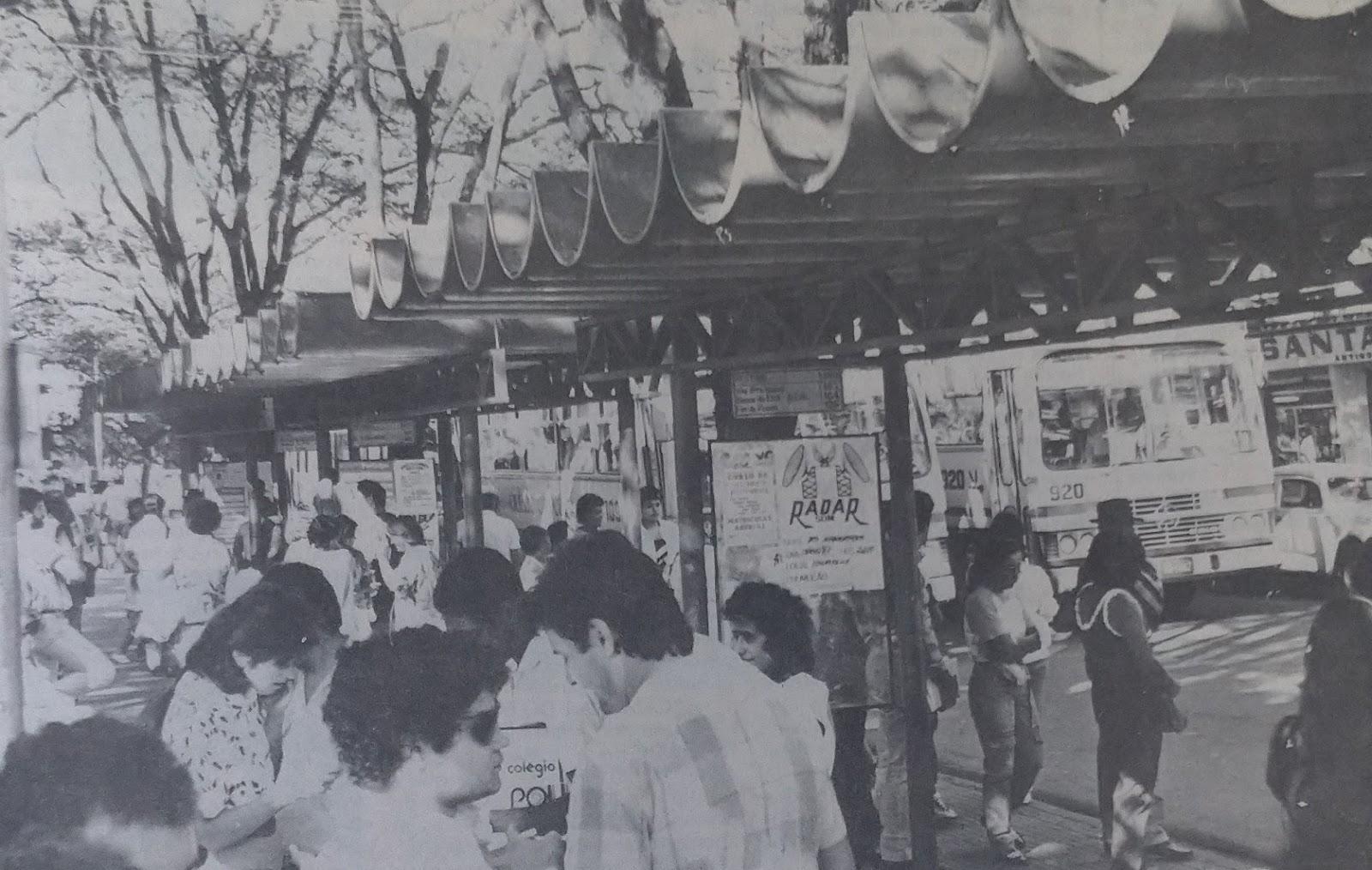 Municipalização do transporte coletivo - 1987
