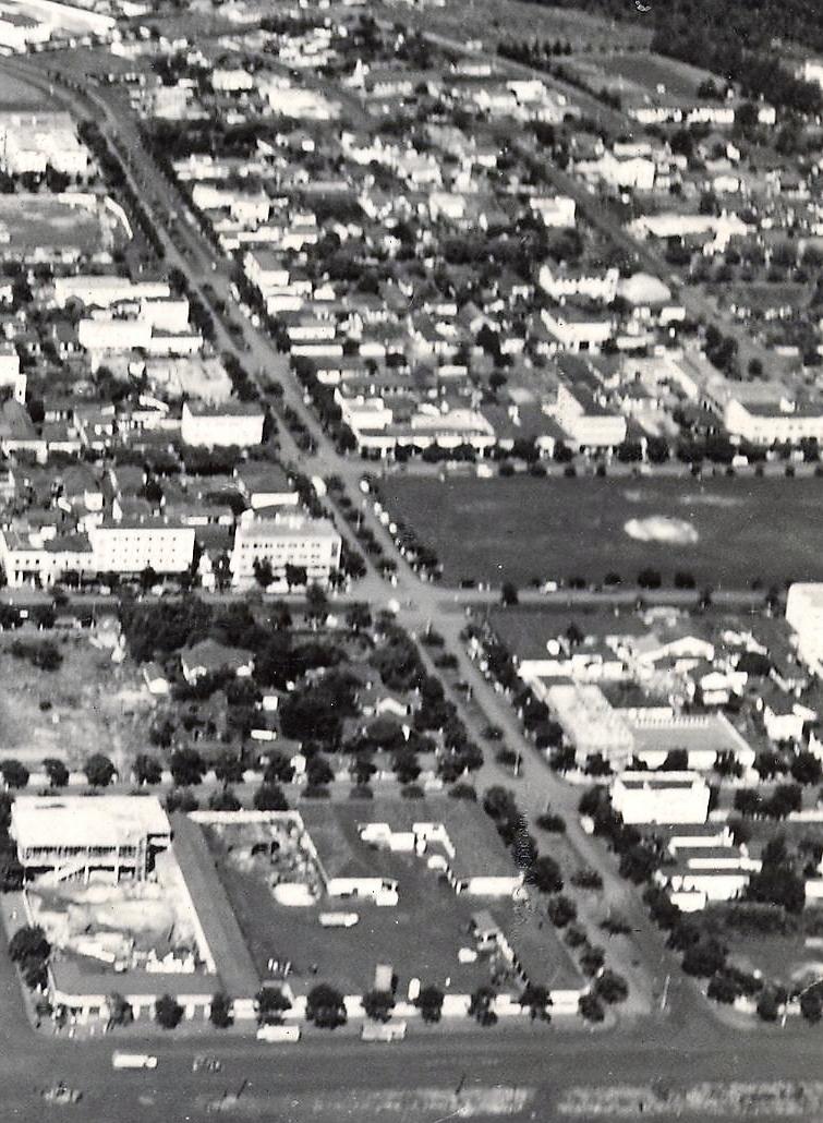 Avenida Duque de Caxias - Início dos anos 1960