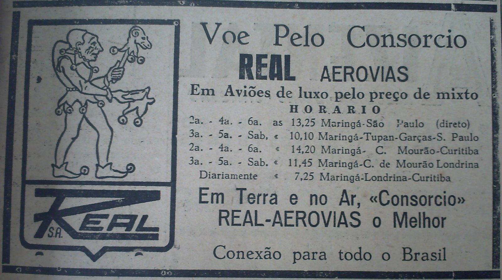 Início da Aviação em Maringá