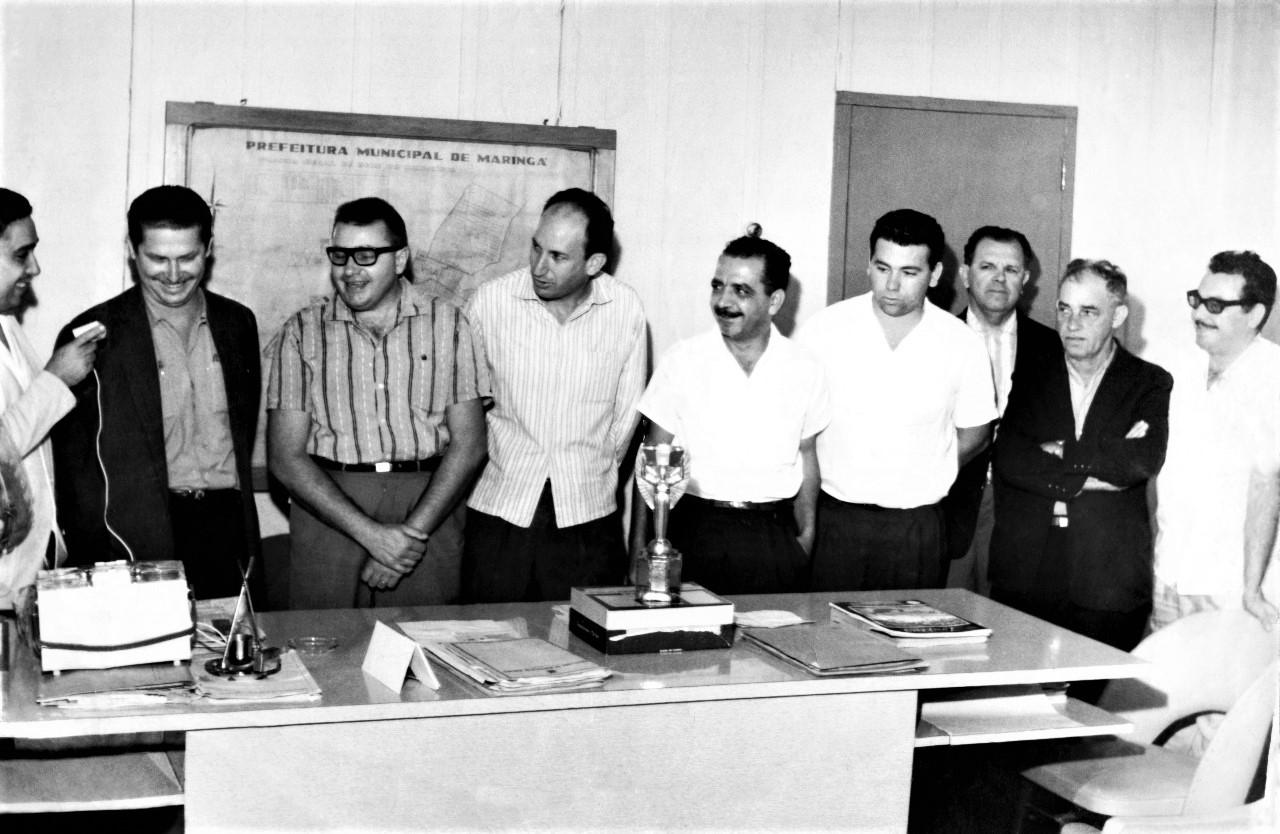 Taça Jules Rimet em Maringá - Década de 1960