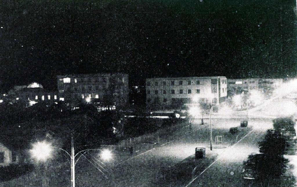 Avenida Duque de Caxias - Vista Noturna