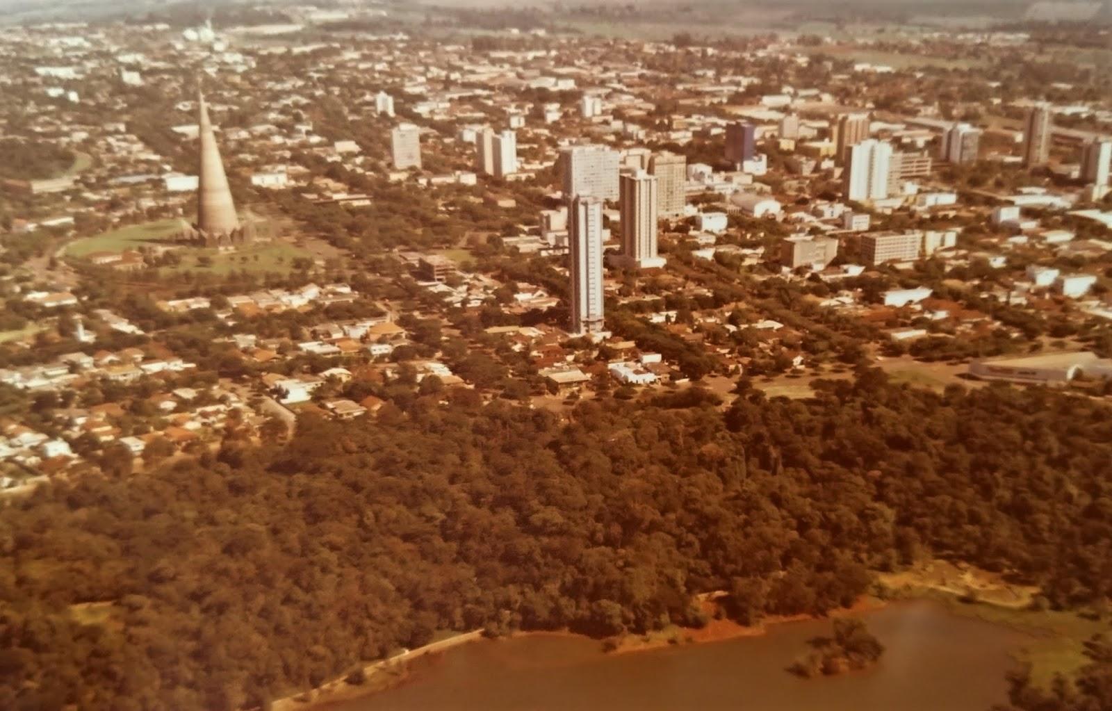 Vista aérea - 1982