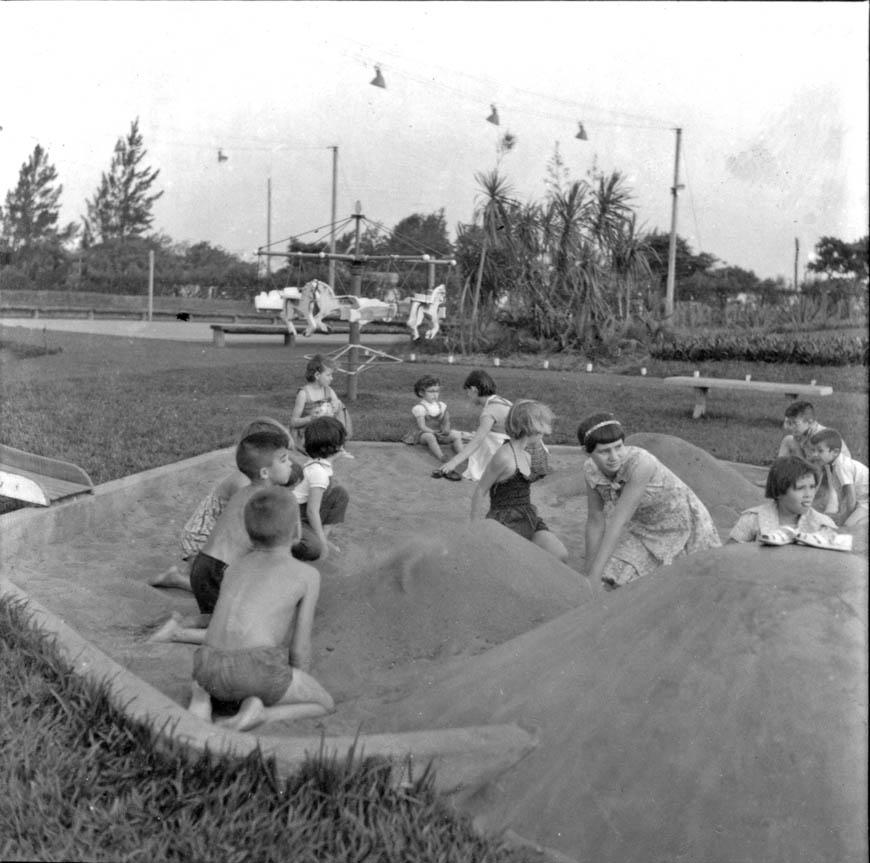 Diversão no Maringá Clube - 1960
