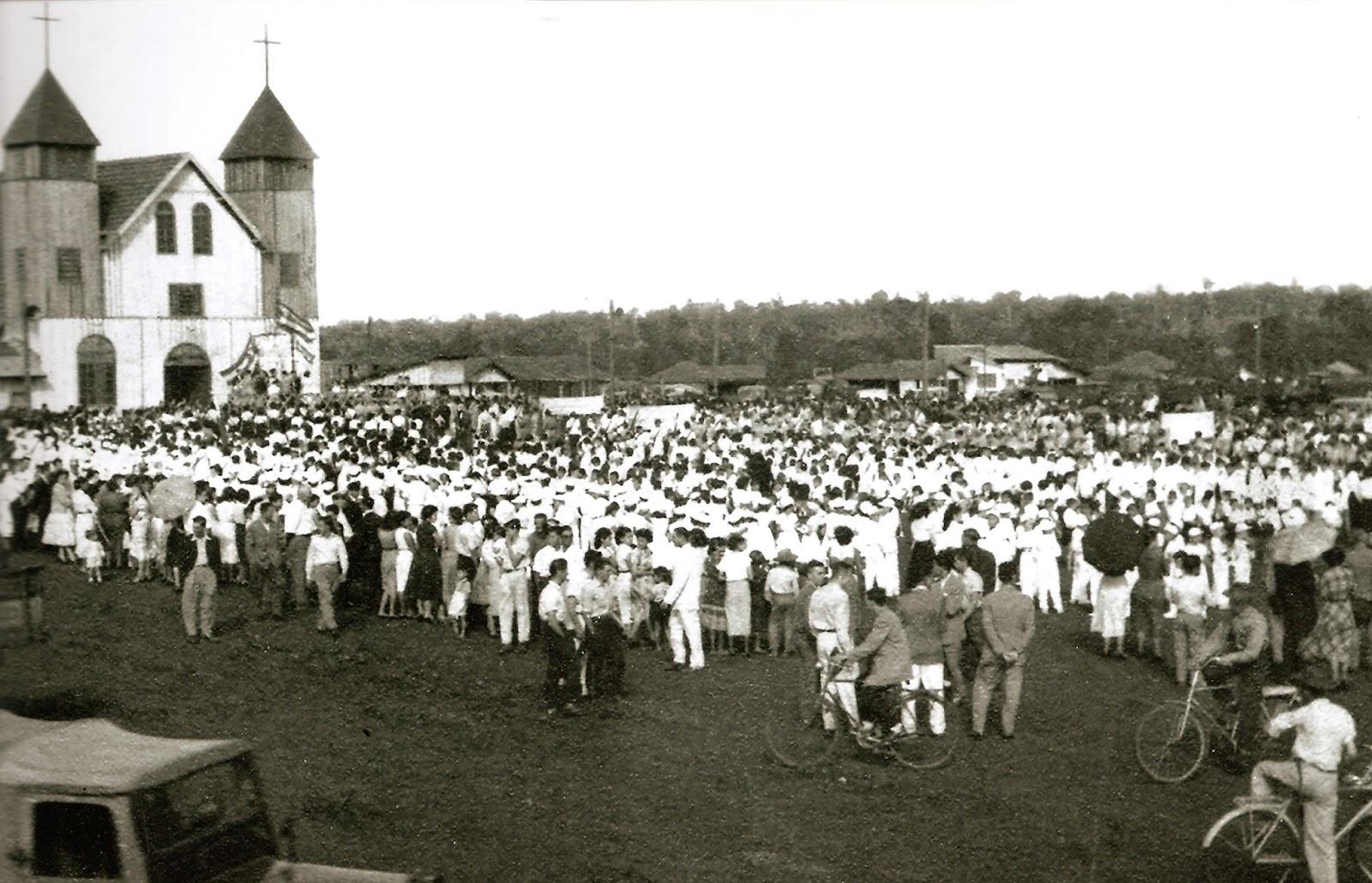 Evento na Catedral - 1954
