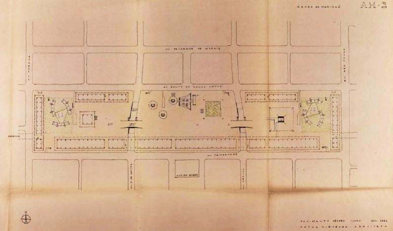 Projeto Ágora, Oscar Niemeyer e o Novo Centro