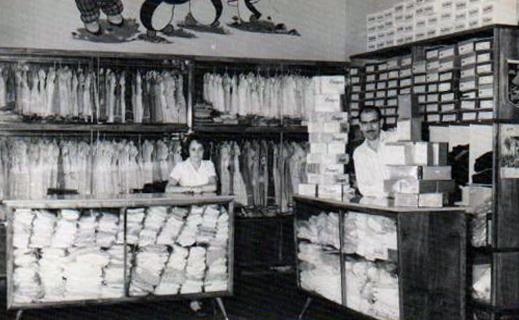 Loja A Queridinha - Década de 1960