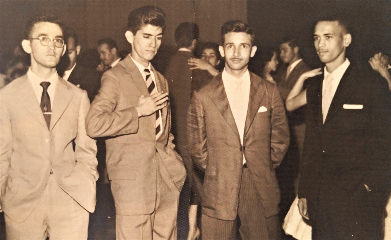 Personalidades no Aero Clube de Maringá - Anos 1950
