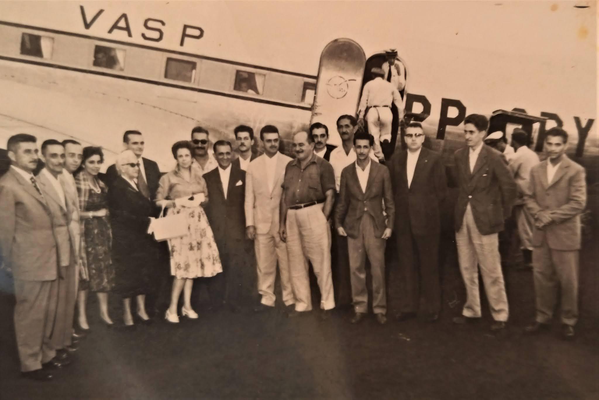 Chegada de Joubert de Carvalho a Maringá - 1959