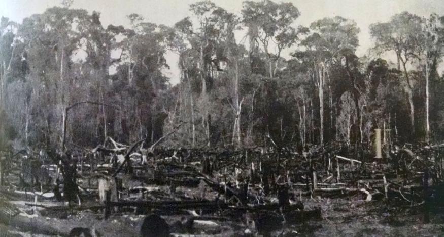 Clareira - Década de 1940